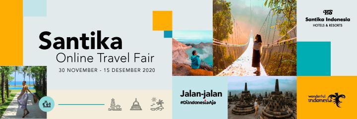Santika Online Travel Fair 3 - Web