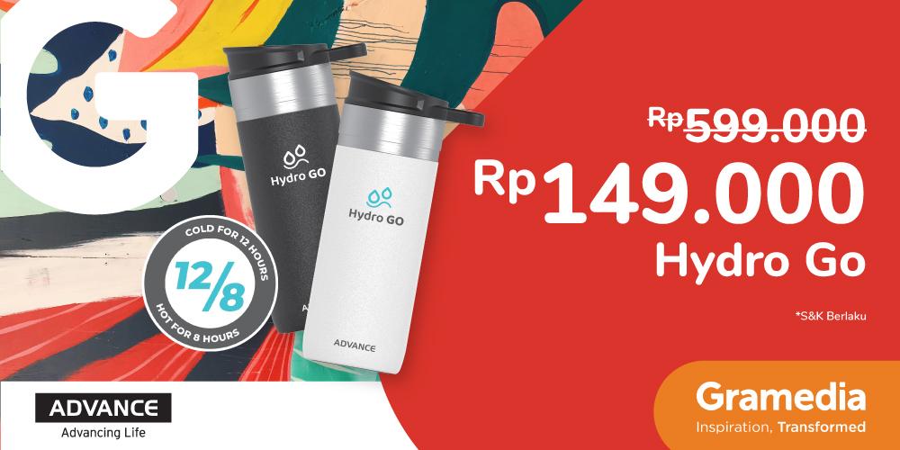 Produk Hydro Go Rp149.000