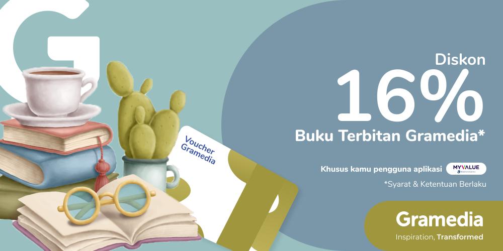 Gambar promo Payday Time! Hemat 16% SEMUA BUKU dari Gramedia