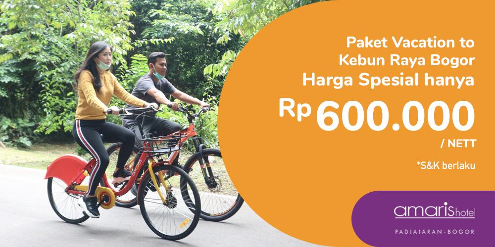 Gambar promo Paket Vacation to Kebun Raya Bogor dari Santika