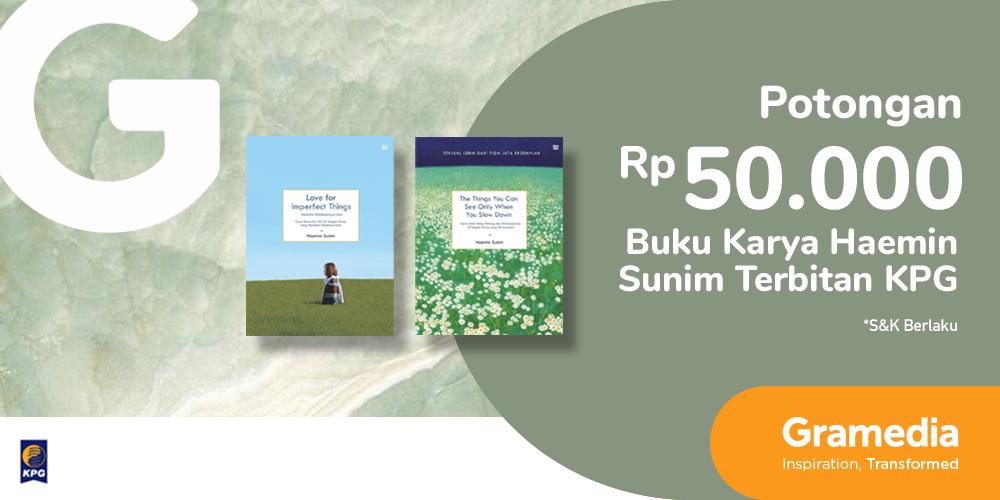 Gambar promo Potongan Rp50.000 Buku Karya Haenim Sunim dari Gramedia