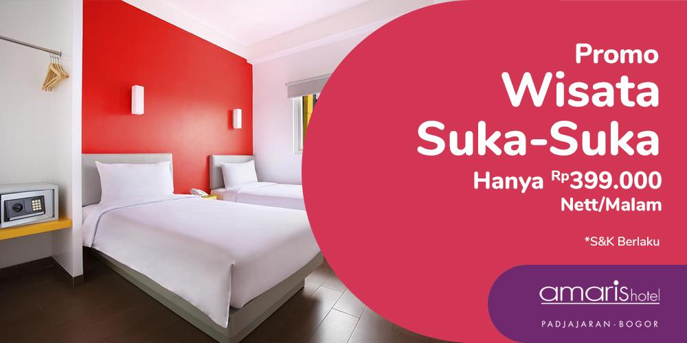 Gambar promo Promo Wisata Suka-Suka hanya Rp399.000 Nett/Malam dari Santika