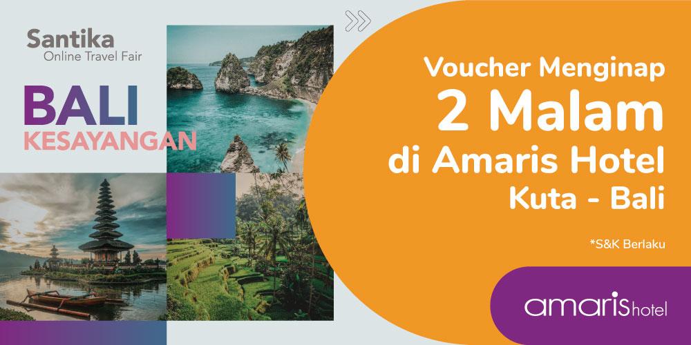 Gambar promo Voucher Menginap 2 Malam di Amaris Hotel Kuta - Bali dari Santika