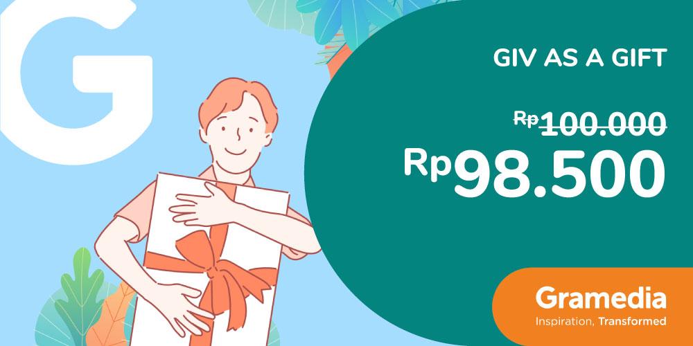 Gambar promo E-Voucher Belanja Rp1.000.000 di Gramedia dari Gramedia